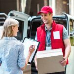 Difference between logistics and courier service